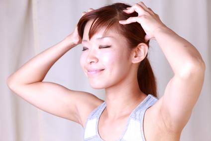 女性の薄毛改善にマッサージ